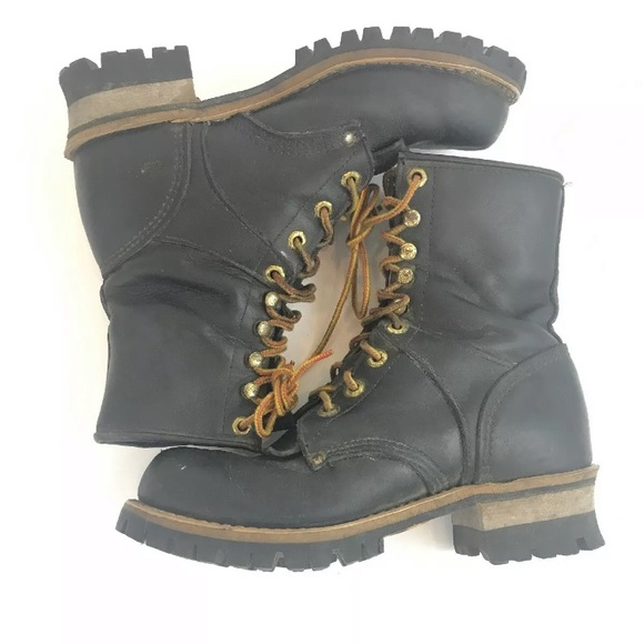 bee23bc4a9a Vintage Georgia Womens Size 7 1/2 Lacer Boots